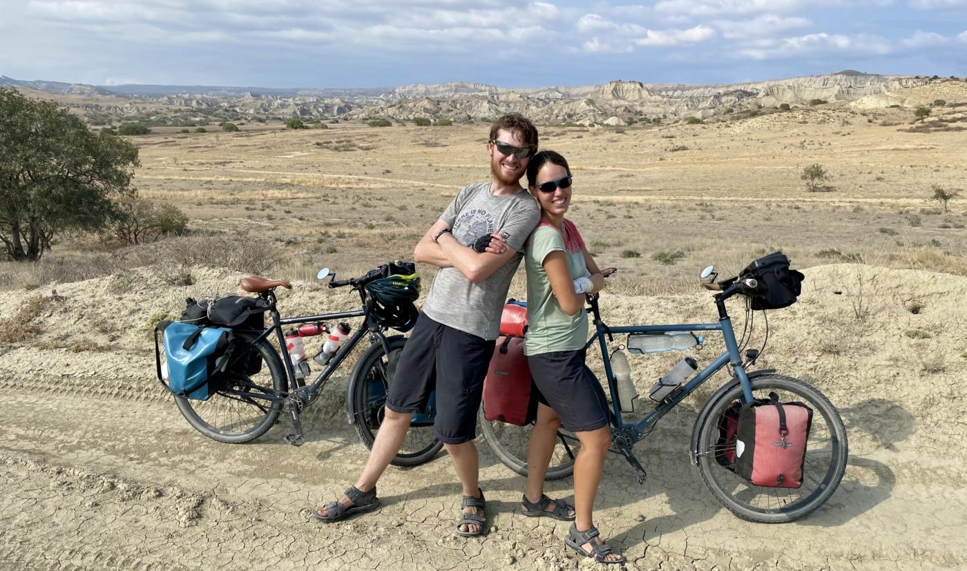 Kommt Zeit Kommt Rad - Beni & Nicole - Waschlowani National Park